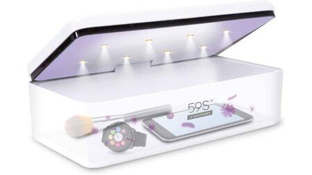59s s2 : la boite de stérilisation uv pour smartphone