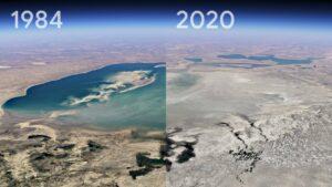 De 1984 à 2020 : Google retrace l'évolution de la Terre dans une vidéo timelapse