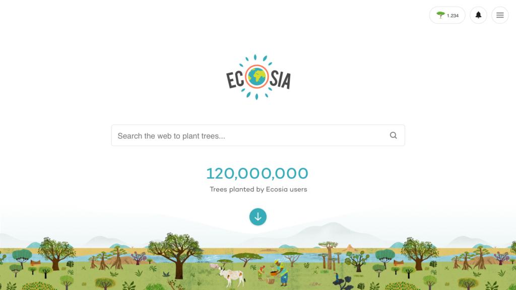 ecosia-recherche