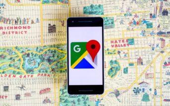 Google Maps : retour de la boussole sur Maps pour Android
