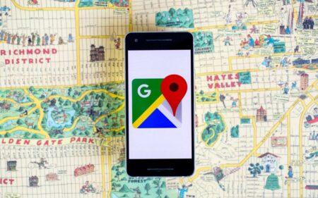 Google Maps avec smartphone