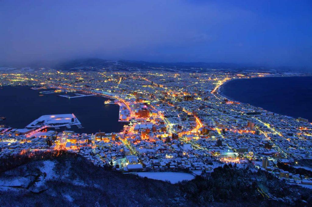Hakodate ville au Japon