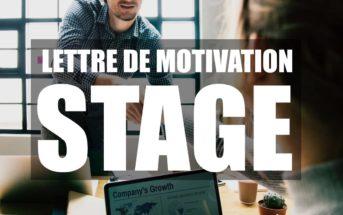 Lettre de motivation de stage : conseils et exemples