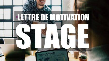 Lettre de motivation de stage