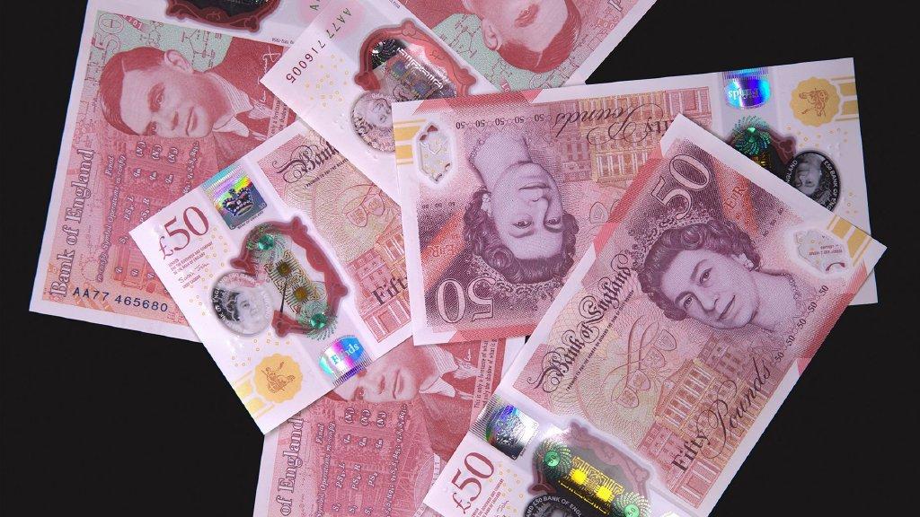 Billets de livre sterling