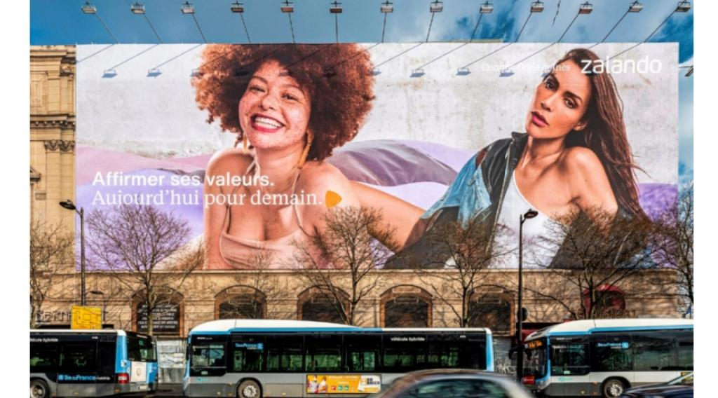 Campagne Zalando 2021 Affiches