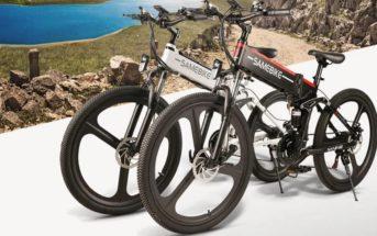 Code promo Samebike LO26 : le VTT électrique pliant en réduction