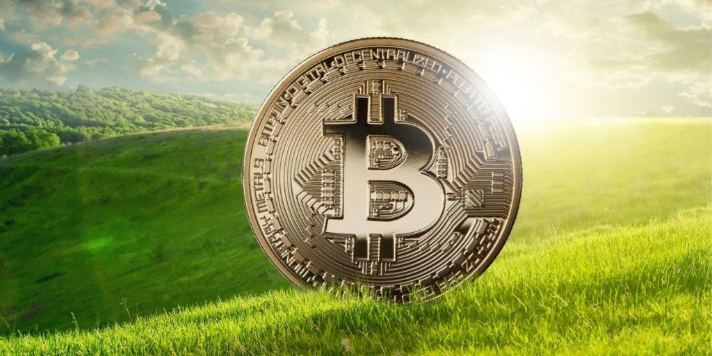 Du Bitcoin vert