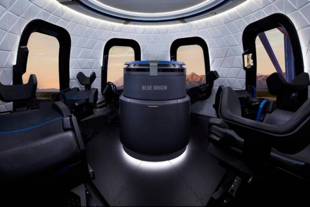 L'intérieur de la capsule