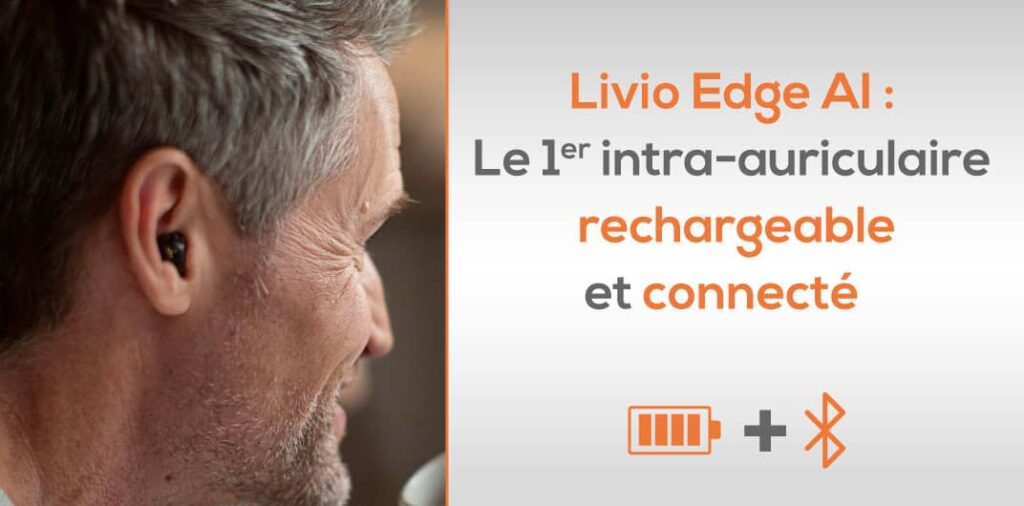 appareil auditif Livio Edge AI