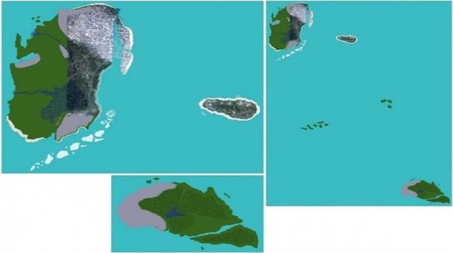 Cartes qui montrent Miami sur GTA VI