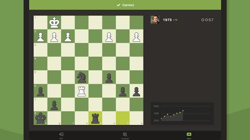 Le jeu d'échecs avec Chess Play & Learn