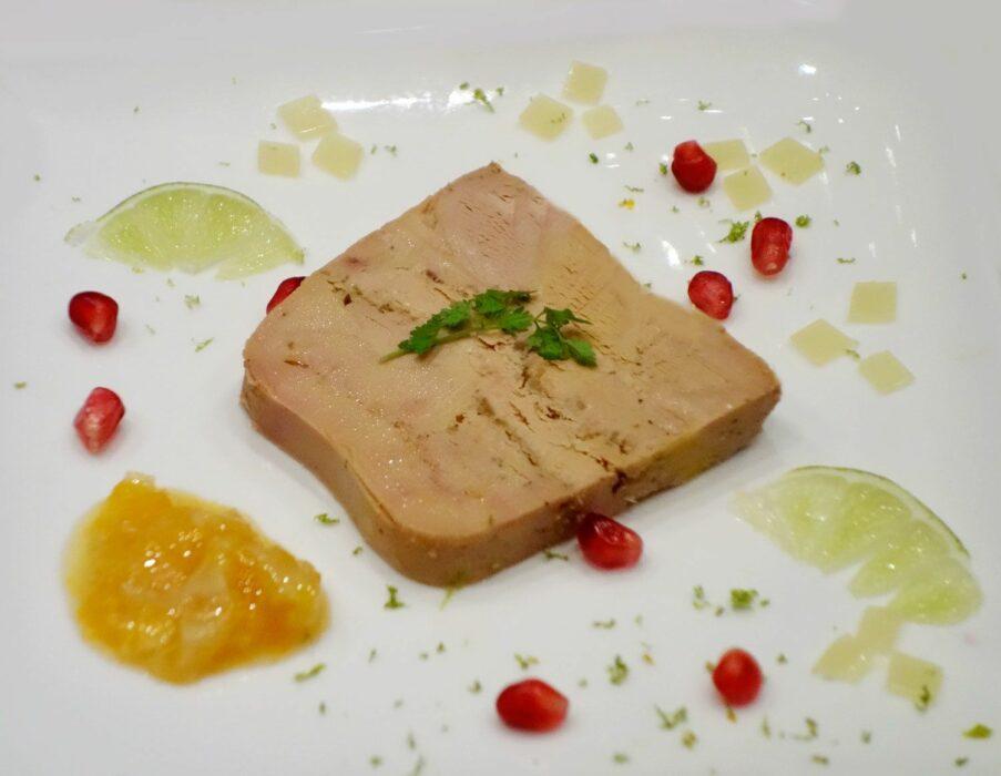 foie gras et agrume