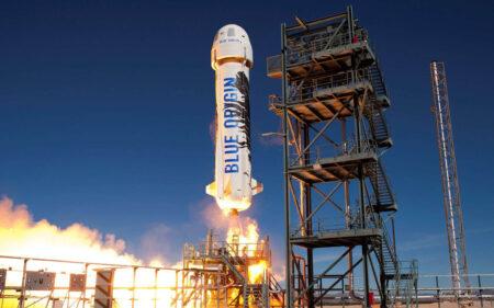 La fusée New Shepard de Blue Origin