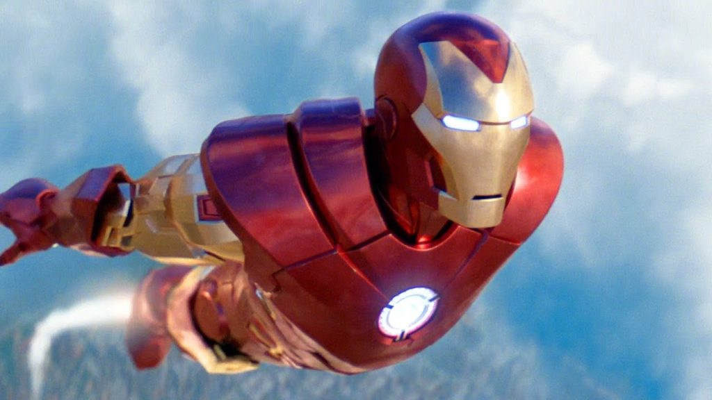 Iron Man avec son Jetpack