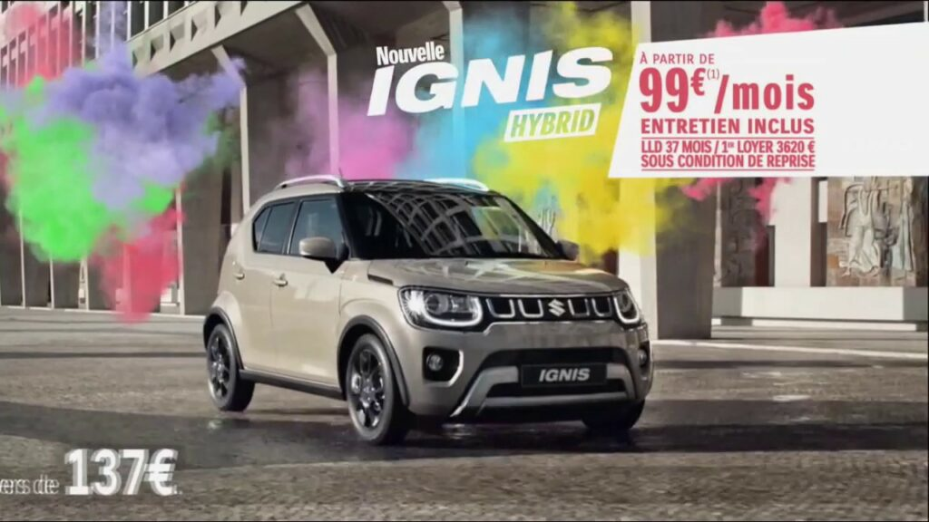 musique de la pub Suzuki Ignis Hybrid