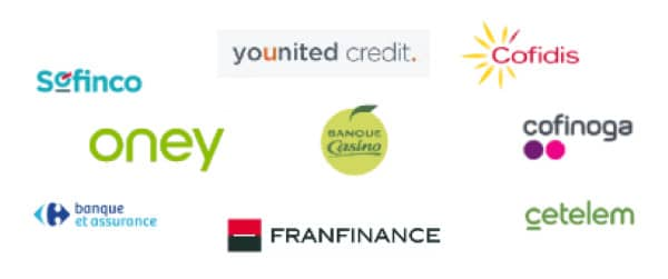 principaux organismes de crédit