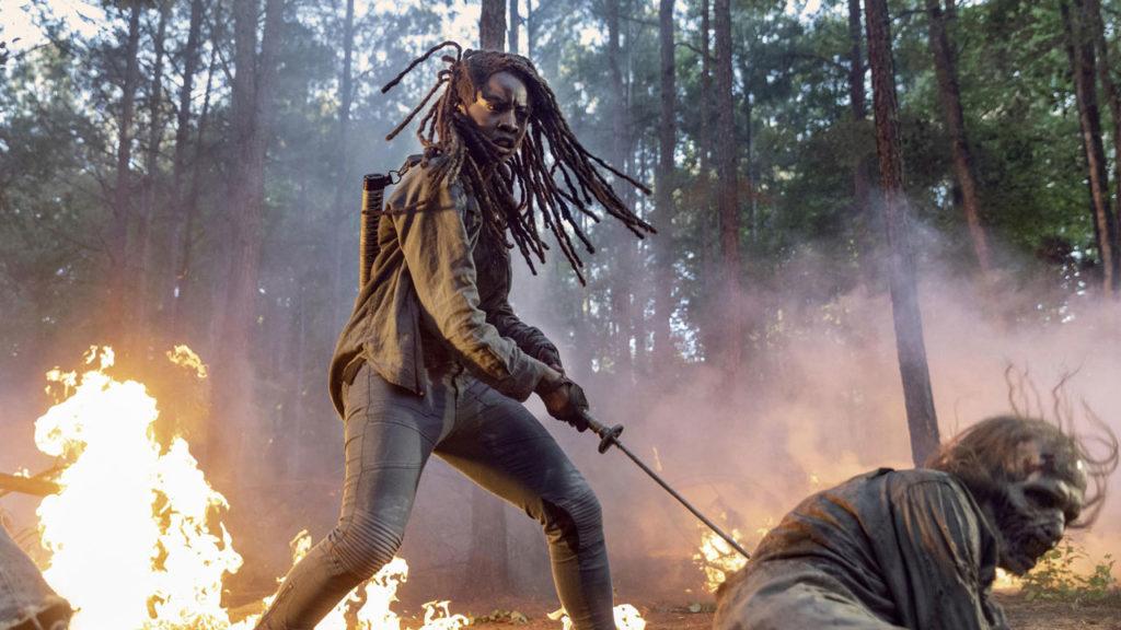 saison 11 the walking dead michonne