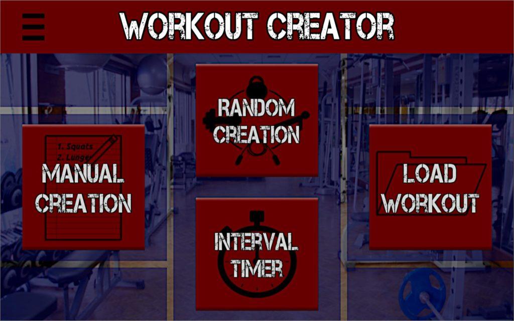 Workout Creator