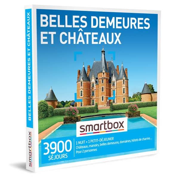 smartbox belles demeures et châteaux