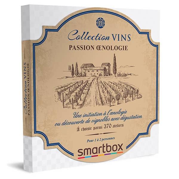 smartbox collection vins passion œnologie