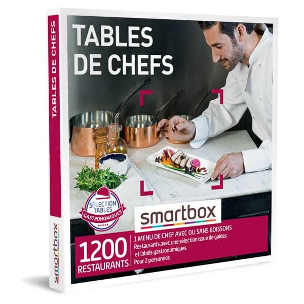smartbox table de chefs