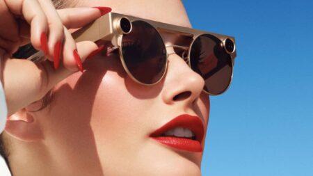 snapchat lunettes connectées