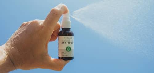 spray oral au CBD
