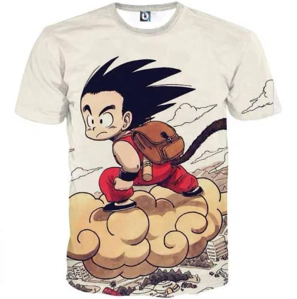 t-shirt dragon ball