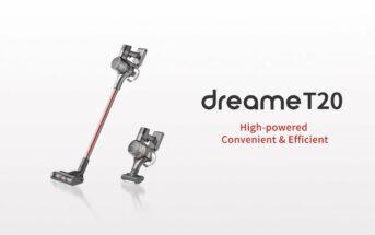 Promo Dreame T20 : l'aspirateur balai sans fil à 269€ [Amazon Prime Day]