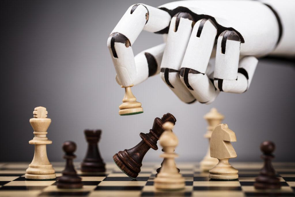 Une intelligence artificielle jouant aux échecs