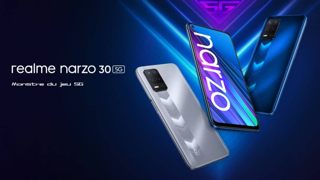 Realme Narzo 30 smartphone gaming