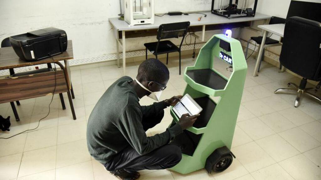 Le robot Dr Car