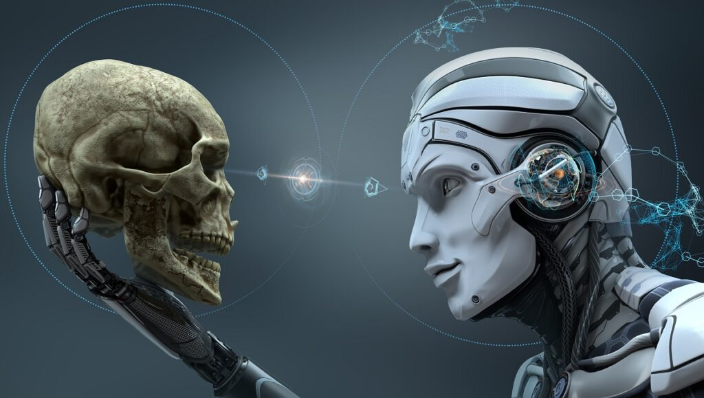 Un robot surpassant l'être humain