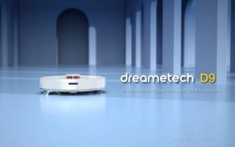 Code promo Dreame D9 : le robot aspirateur à 249€ sur Amazon