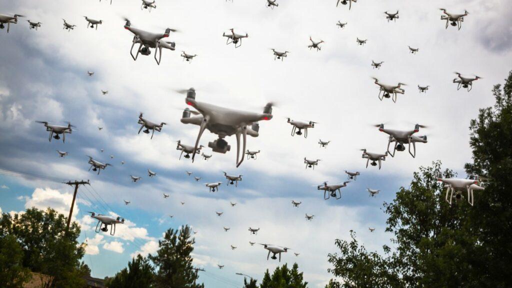 Le projet DESHIR utilisera un essaim de drones