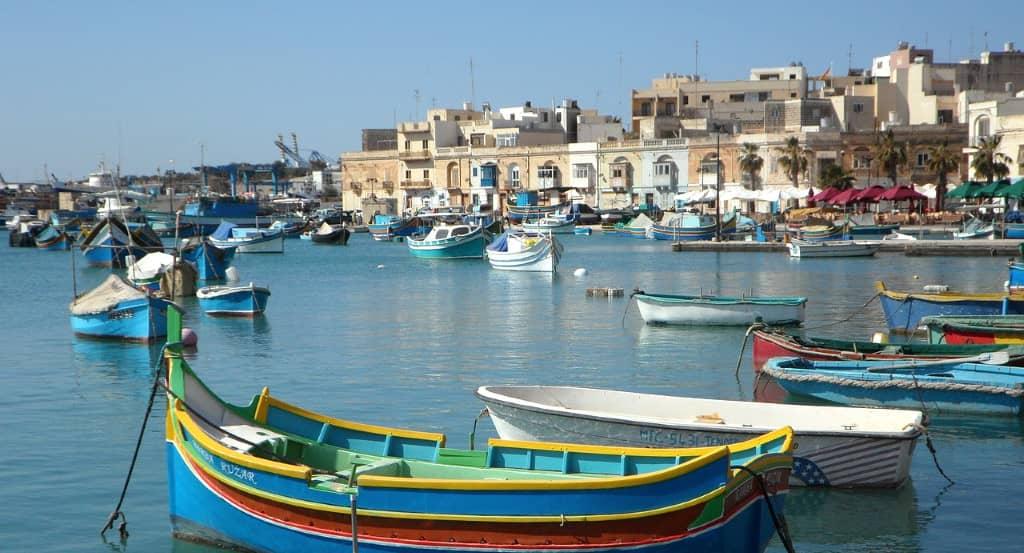 malte village de pécheurs