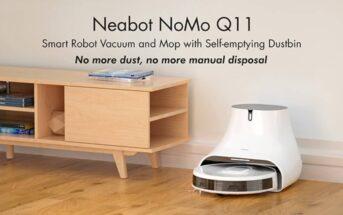 Neabot NoMo Q11 : l'aspirateur robot en promo à -30% sur Indiegogo !