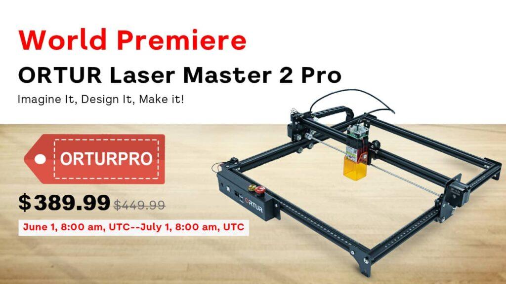 Ortur Laser Master 2 Pro pro-promo