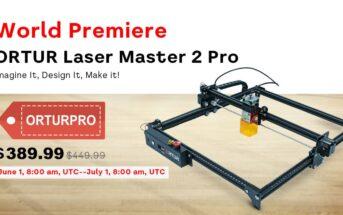 Code promo Ortur Laser Master 2 Pro : la machine de gravure laser à 327€