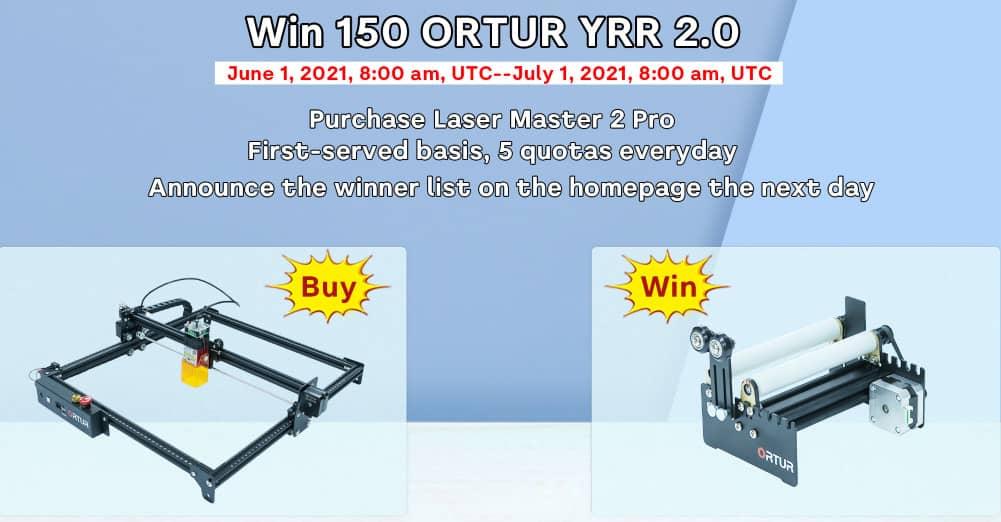 ortur laser master 2 pro promo yrr
