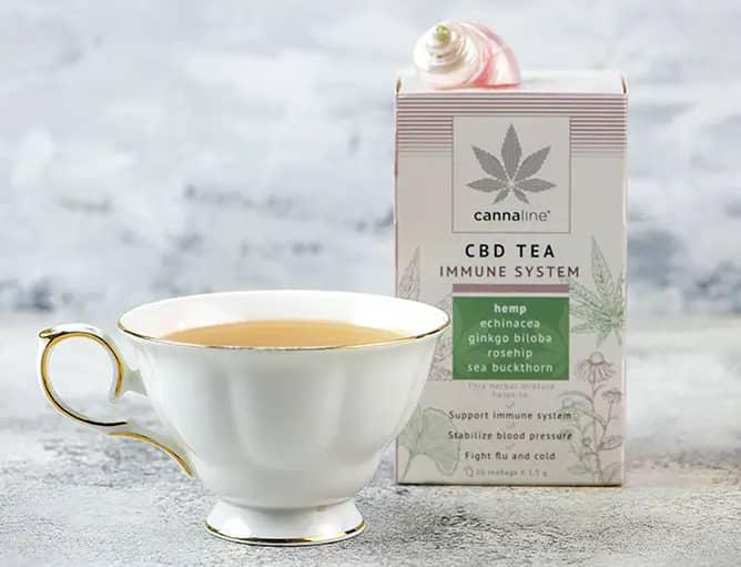 thé infusion au cbd
