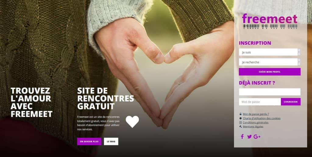 trouver l'amour sur freemeet, site de rencontre gratuit