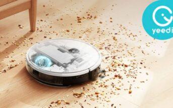 Code promo Yeedi 2 Hybrid : l'aspirateur robot en réduction à 209€ sur Amazon !