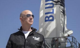 Jeff Bezos, le patron de Blue Origin