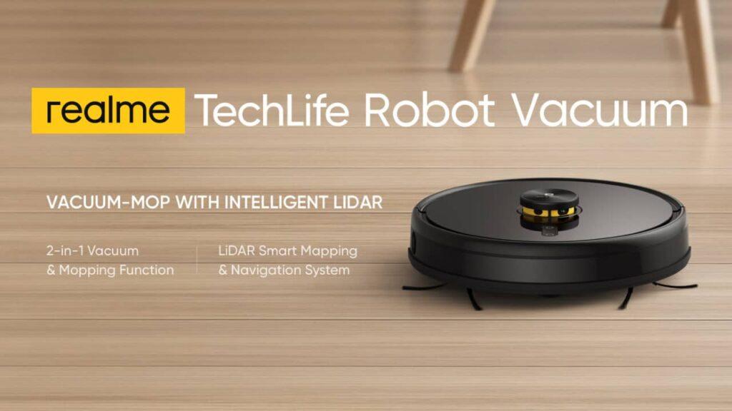 Realme TechLife aspirateur robot