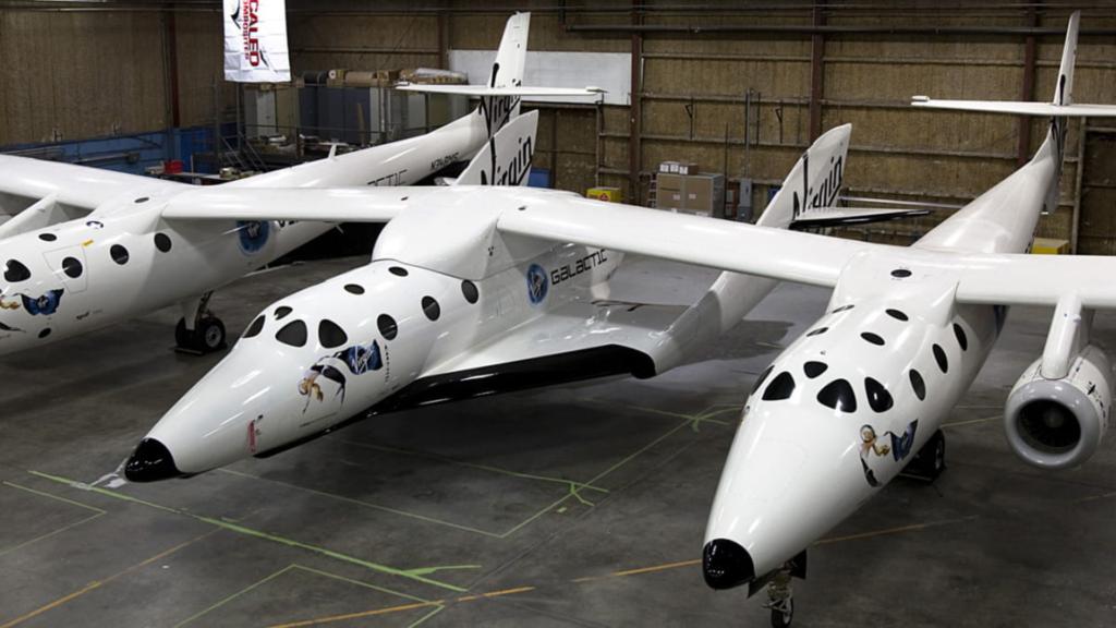 Le vaisseau SpaceShipTwo en image