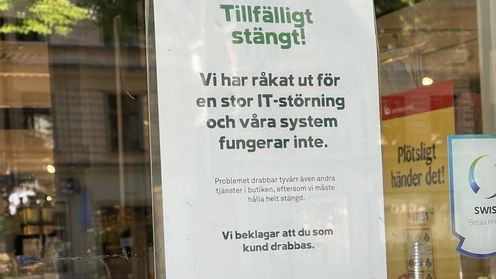 L'annonce du Coop Suède