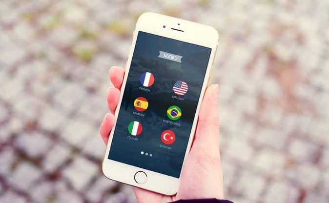 application mobile pour apprendre des langues