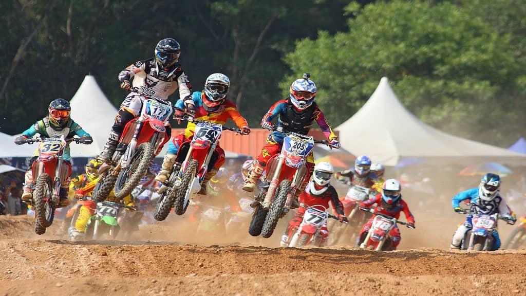 compétition de motocross